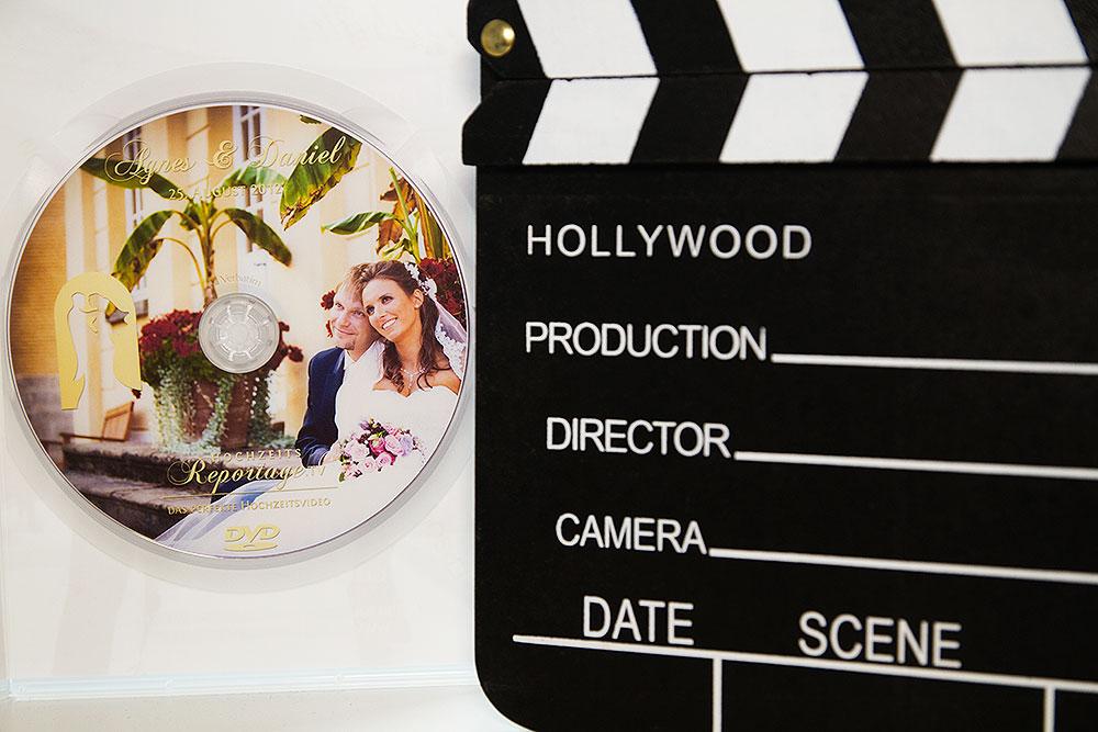 Videoschnitt eines Hochzeitsvideos