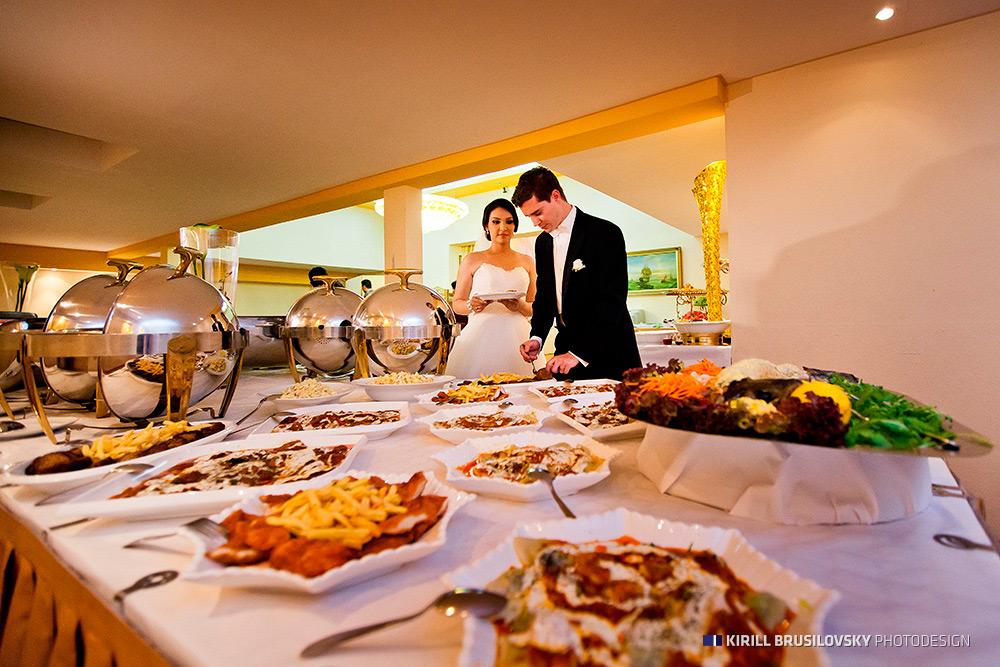 Catering für die Hochzeit